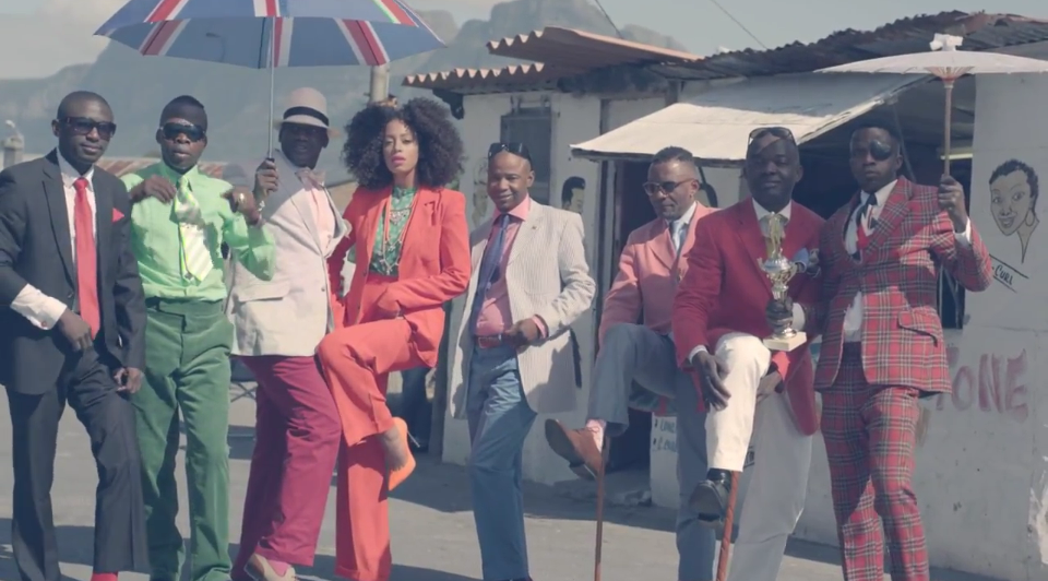 Solange and Les Sapeurs
