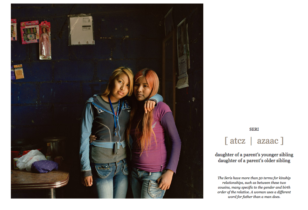 Lynn Johnson, Vanishing Voices Photo Slideshow, National Geographic, 2012
