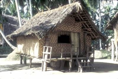 A trade store in Tambunum village, East Sepik Province, PNG, 1988